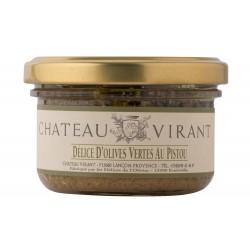 Délice d'olive vertes au pistou