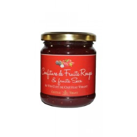 Confiture de fruits rouges au vin cuit