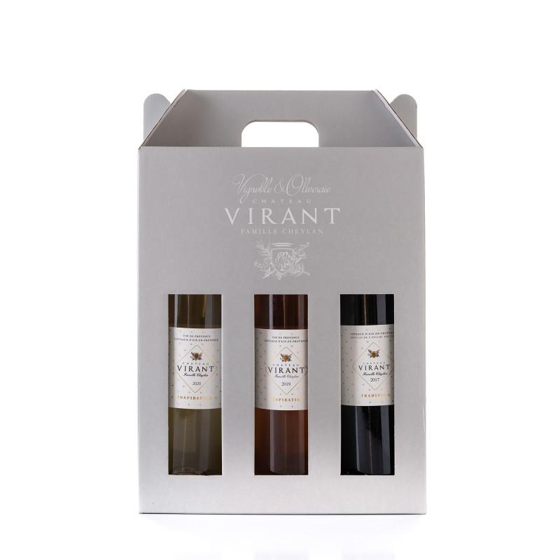 Coffret 3 couleurs Tradition | Coffret vin