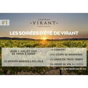 Château Virant X Lola 01/07/21