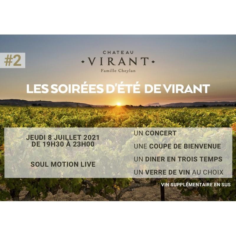 Château Virant X Soul Motion Live 08/07/2021