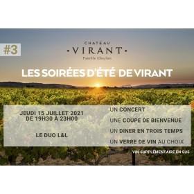 Château Virant X groupe L&L...