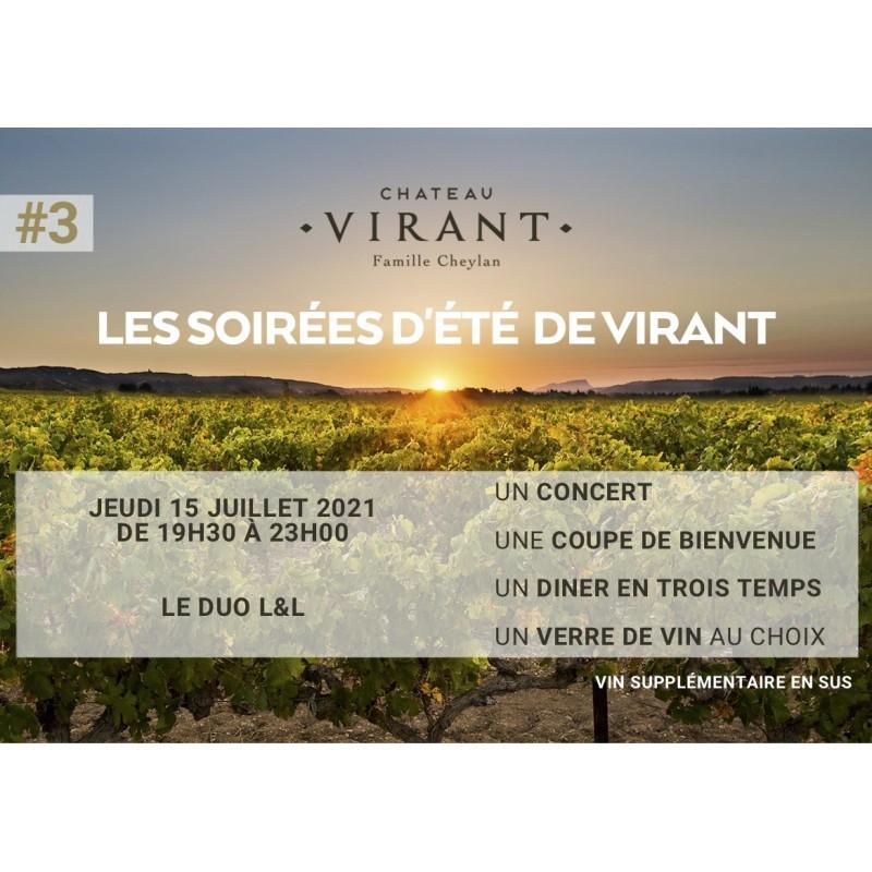 Château Virant X groupe L&L 15/07/2021