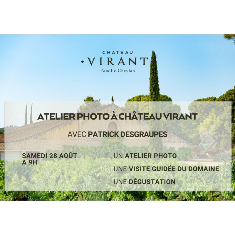 Vignes et Oliviers, un regard photo sur Château Virant 2
