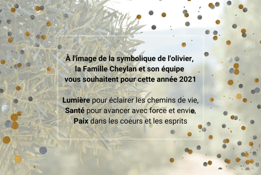 Bonne année 2021 Château Virant