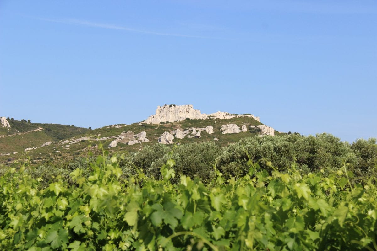 rocher château Virant